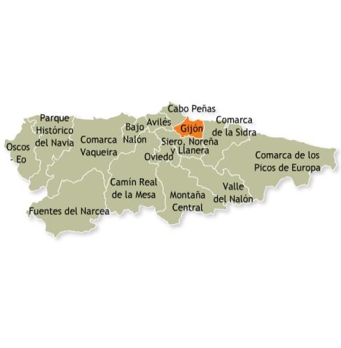 Las casas rurales turismo rural selecci n de casas for Oficina de turismo gijon