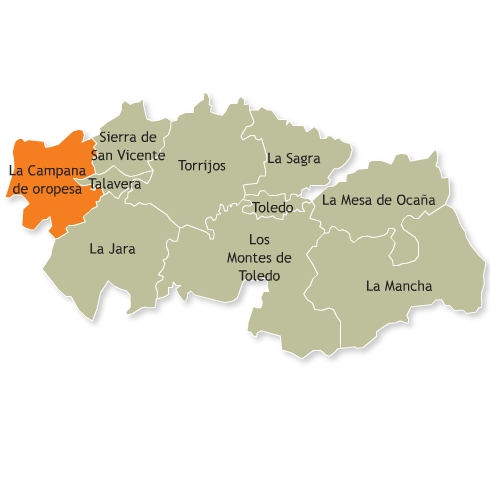 Resultado de imagen de Comarca de La Campana de Oropesa