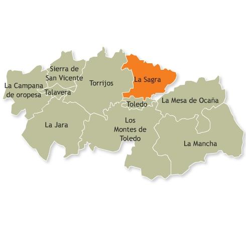 Resultado de imagen de comarca de La Sagra