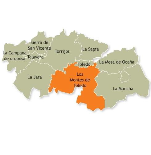 Resultado de imagen de Comarca de los Montes de Toledo