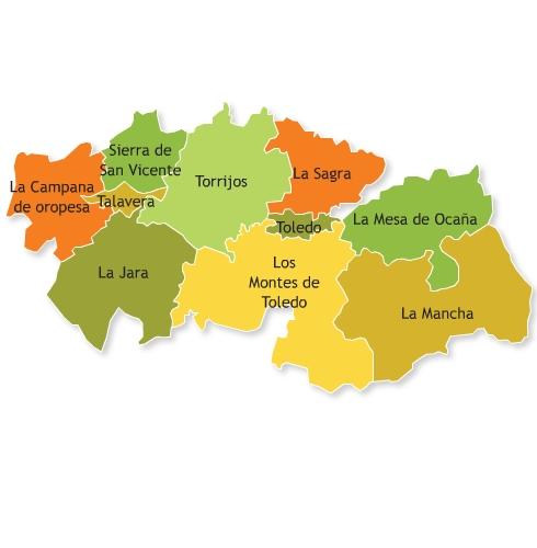 Las casas rurales turismo rural selecci n de casas - Casas rurales en la provincia de toledo ...