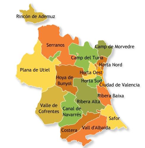 Las casas rurales turismo rural selecci n de casas - Casas de pueblo en valencia ...
