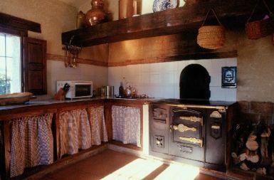 Las casas rurales turismo rural selecci n de casas - Cocinas antiguas rusticas ...